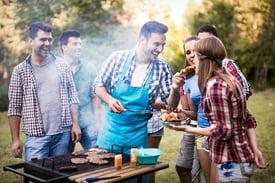 Backyard BBQ with Neighborhood Friends