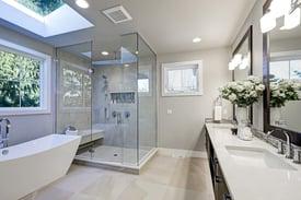 Freestanding Shower in Modern Bathroom.jpg