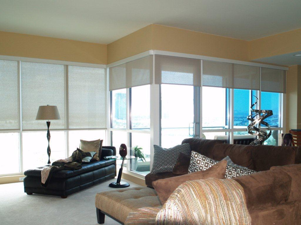 Get Cordless Motorized Window Shades from Polar Shades