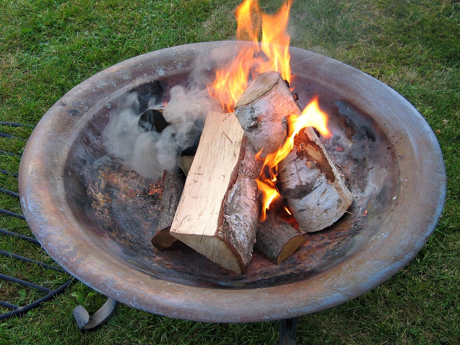 bigstock-Fire-Pit-With-Burning-Logs-2838152