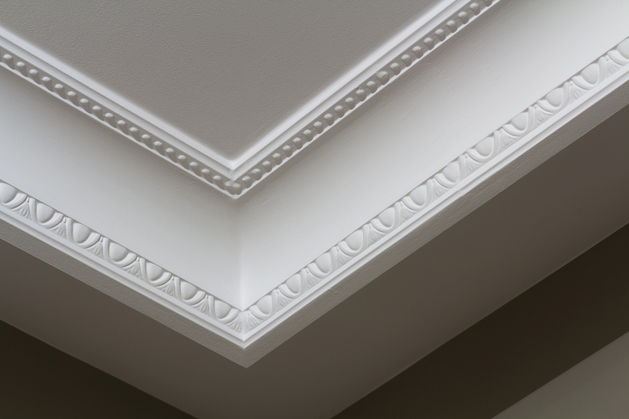 bigstock-Ornamental-White-Molding-Decor-235162954