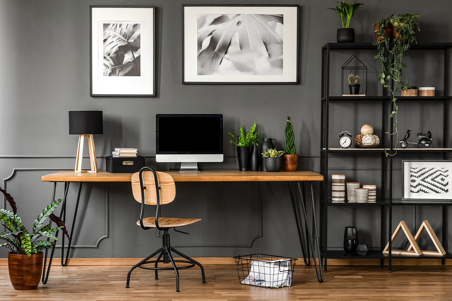 Add Some Pizzazz to Your Home Office with These Simple Tips