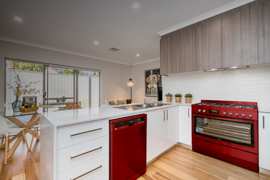 Add a Pop of Color to Your Kitchen with These Tips