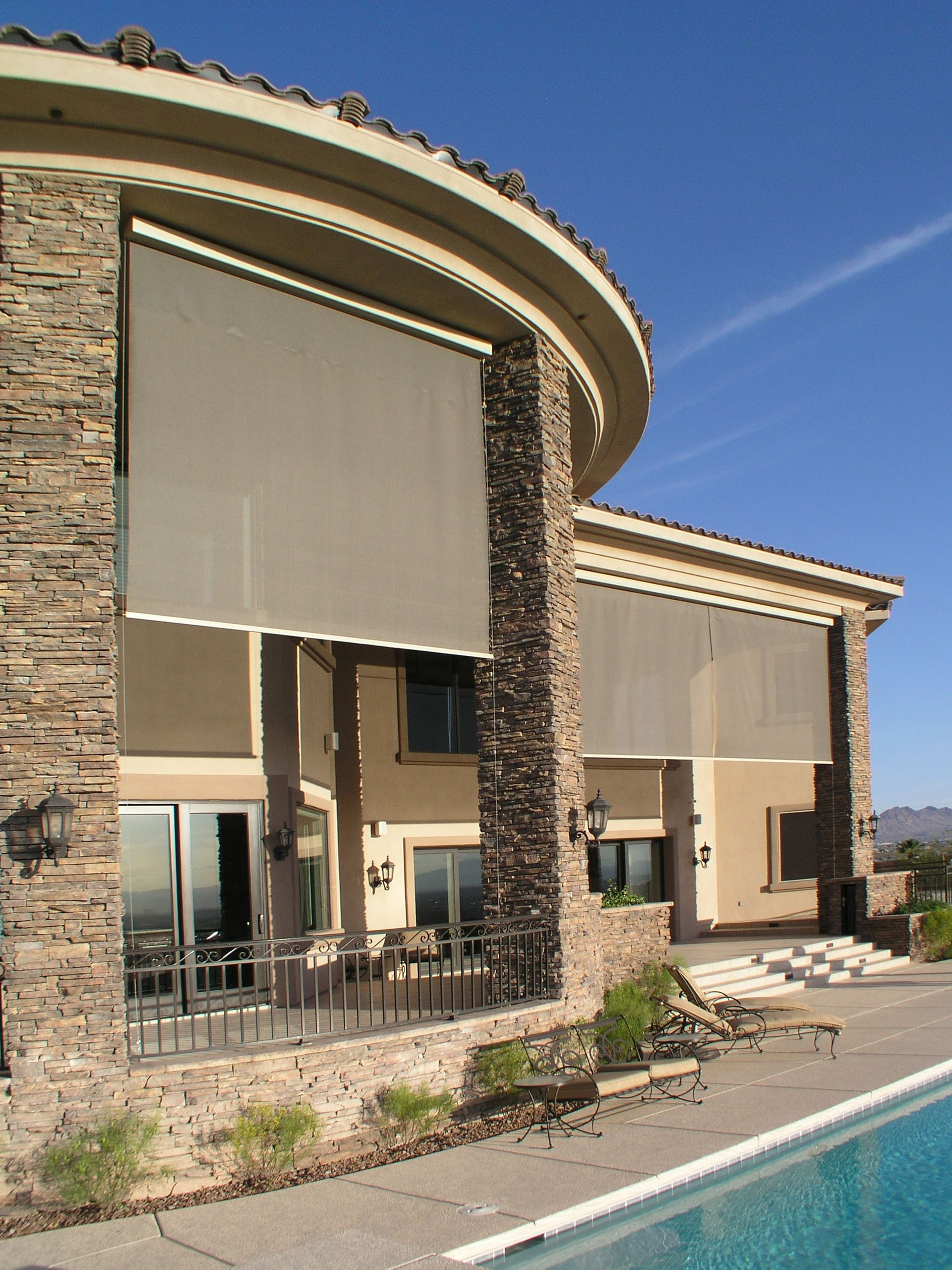Get the Best Exterior Motorized Shade for Your Home at Polar Shades
